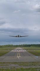 DC3 take-off at Helsinki, Malmi