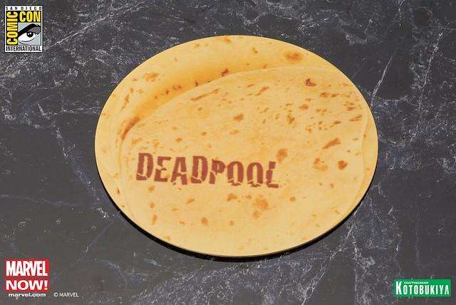 超搞笑英雄,SDCC 限定 ARTFX 死侍 墨西哥炸捲餅ver.