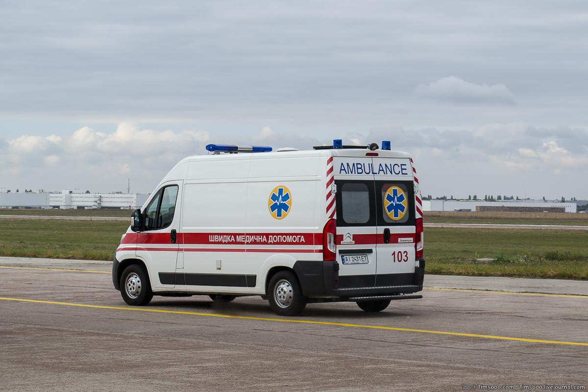 Автомобили скорой помощи в Борисполе