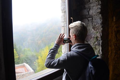 slovakia castle strecno