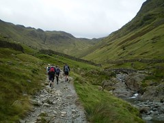 The main path up to Scafell Pike Image