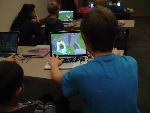 Live Minecraft Competition @ Haggard Library 11/23/16