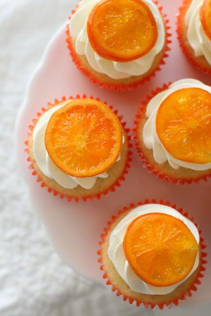 Orange Vanilla Bean Cupcakes | Annie's Eats