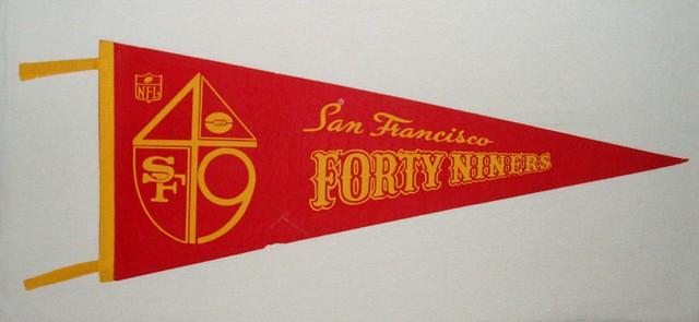 Vintage NFL Pennant - SF 49ers