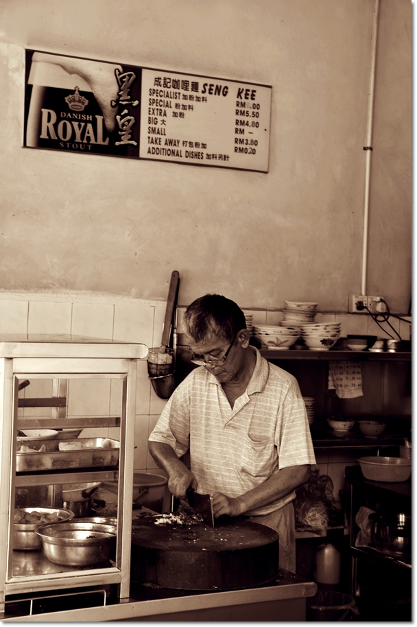 The Man Behind The Curry Mee