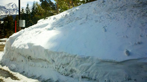 Snow drift