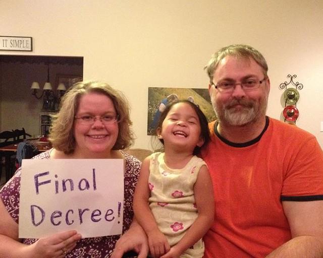 Hudson's final decree
