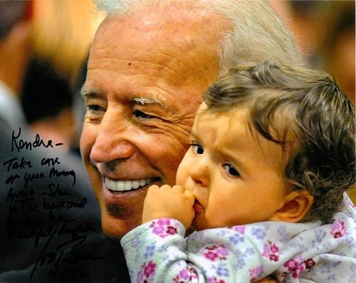 Joe Biden Autograph