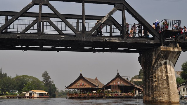 Pak Khwae Thailand  city images : Khwae Yai River Bridge, Kanchanaburi, Thailand | The Khwae Y ...