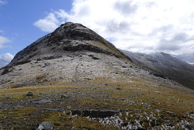 The west ridge of Sgurr Choinnich