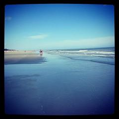 Walkin le beach.