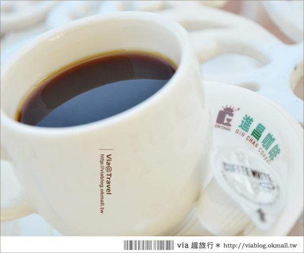 【彰化大村】進昌咖啡烘焙館~田園中的黃色歐式城堡!22