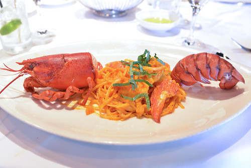 Nova Scotia Deep Sea Lobster Pasta light tomato sauce