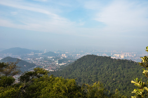 KL Skyline View From Bukit Tabur