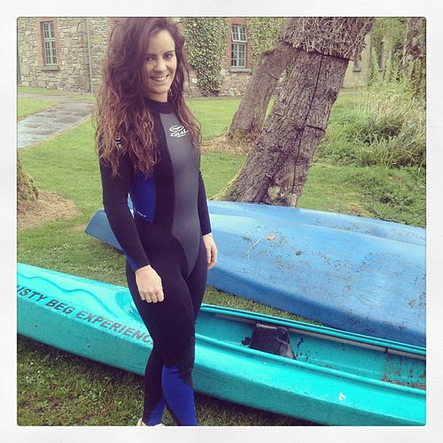 #kayak #rain #wetsuit #fashionstatement #lustybeg #nature #backtonature