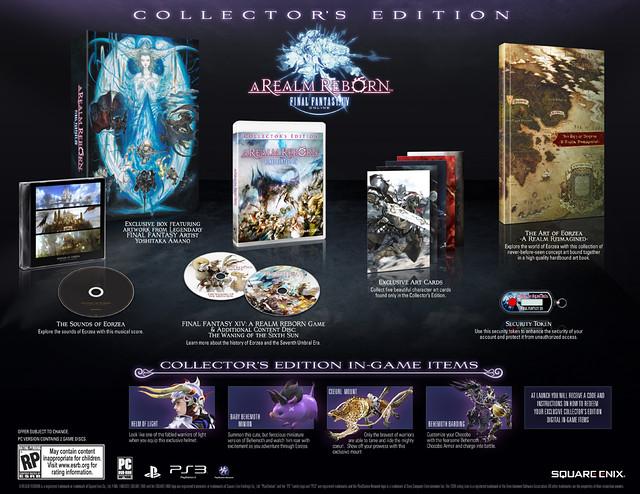 Final Fantasy XIV: A Realm Reborn on PS3 8/27, Collector's