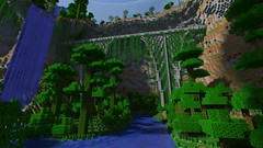 A render I did for a bridge