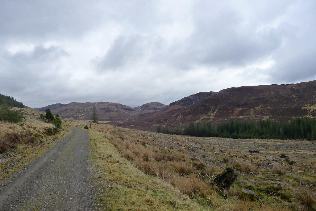 Walking through Glen Udalain