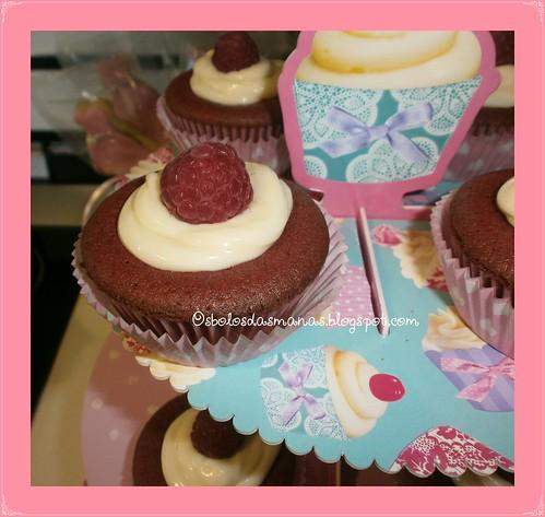 Detalhes Cupcakes Red Velvet by Osbolosdasmanas