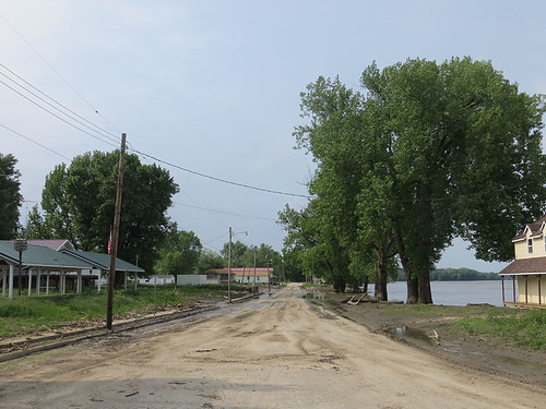 After the flood on main street