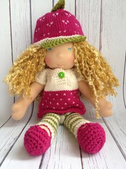"24 Hour Auction for 12"" Sprite size :::Strawberry Shortcake::: Costume"