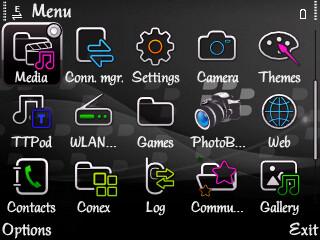 tema untuk nokia e63 full icon