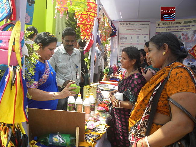 RUDSETI Bazaar organised Canara Bank, Syndicate Bank & SDME Trust at Puri