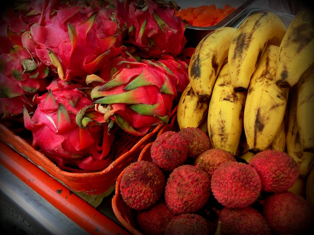 Tropical fruits for smoothies