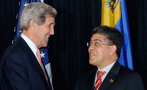 U.S., Venezuela to Pursue �More Positive� Relations
