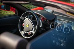 ferrari california(0.0), automobile(1.0), wheel(1.0), vehicle(1.0), ferrari 458(1.0), automotive design(1.0), ferrari f430(1.0), land vehicle(1.0), luxury vehicle(1.0),