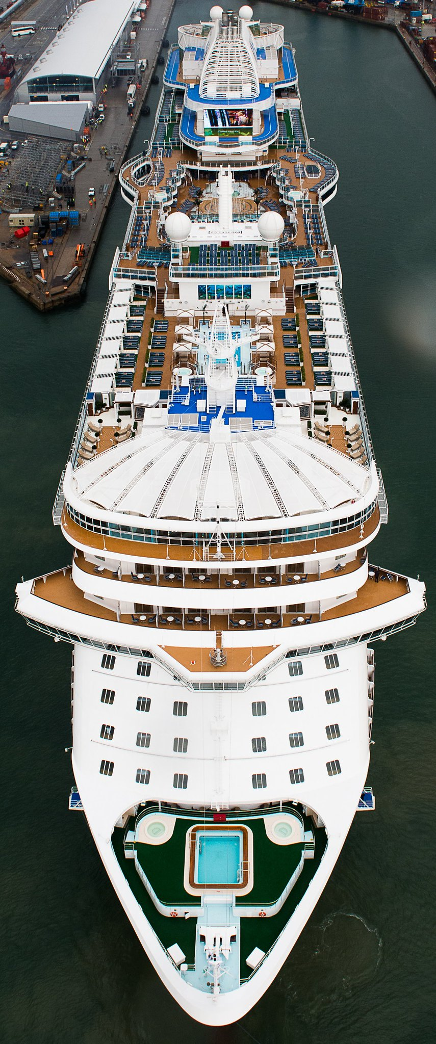 Royal Princess Arrives In Southampton Cruiseind