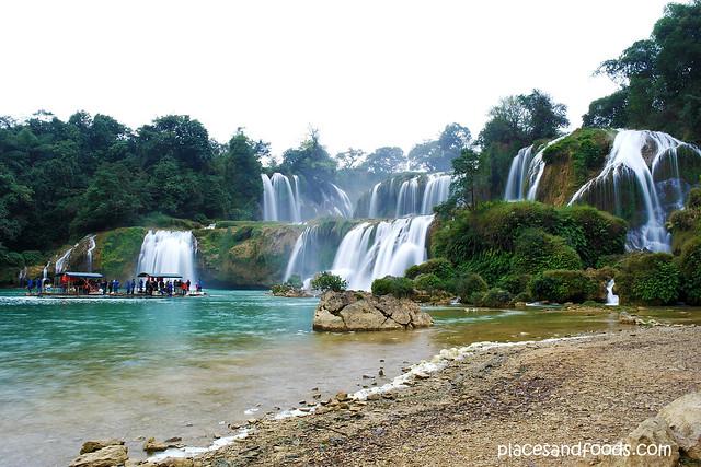 detian waterfall long shuttle from riverside
