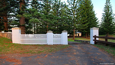 Back Gates to Government House, Quality Row, Kingston, Norfolk Island