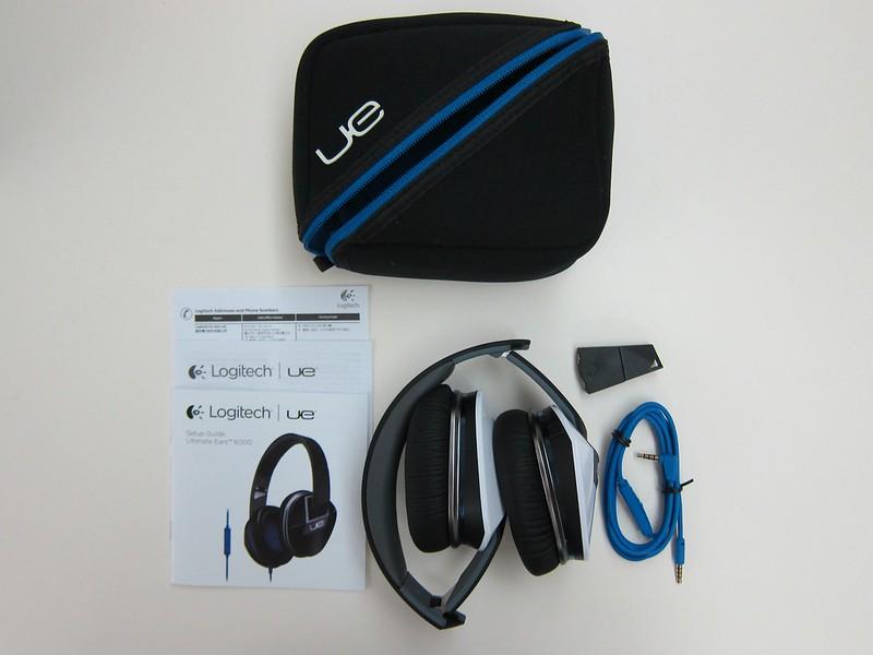Logitech UE 6000 - Box Contents