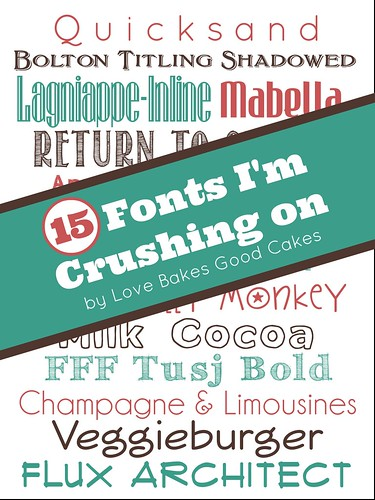 15 Fonts I'm Crushing On