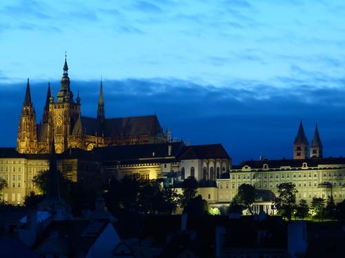 Barrio del castillo de Praga