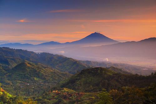 forest sumatra hills mount kerinci