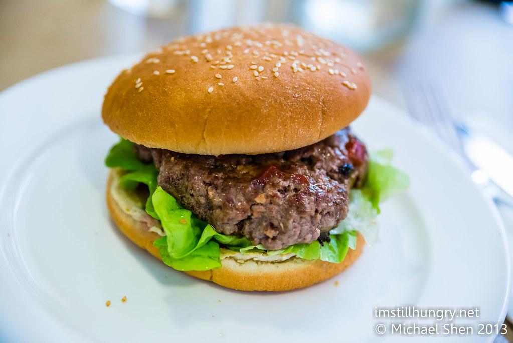 Benz on York beef burger