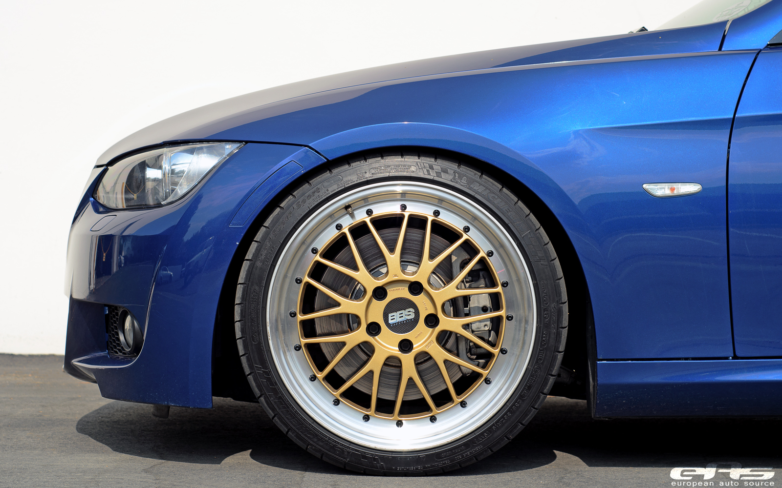 Lemans Blue 335i On Bbs Lms Bmw Performance Parts Amp Services