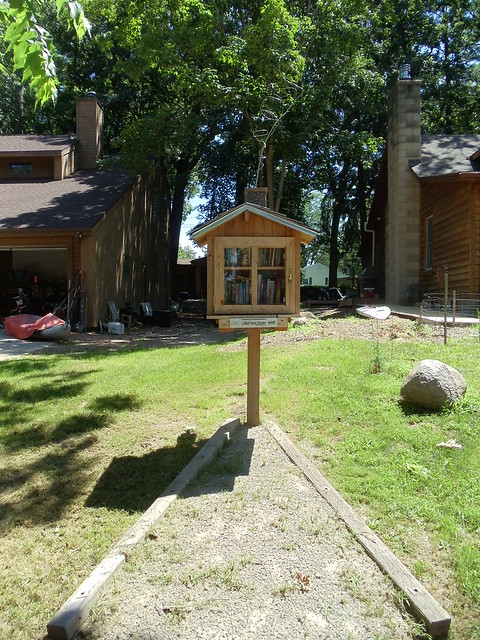 Little FreeLibrary, Lake Mills, WI