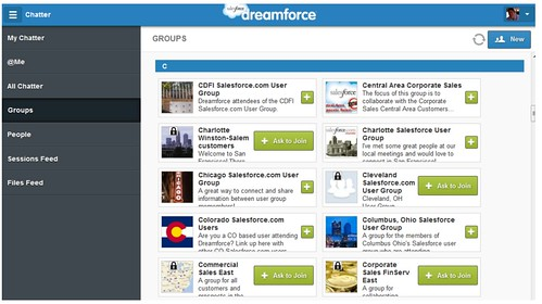 Dreamforce Chatter App - Salesforce Labs - AppExchange