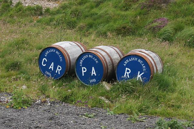 Car Park Casks - Abhainn Dearg Distillery