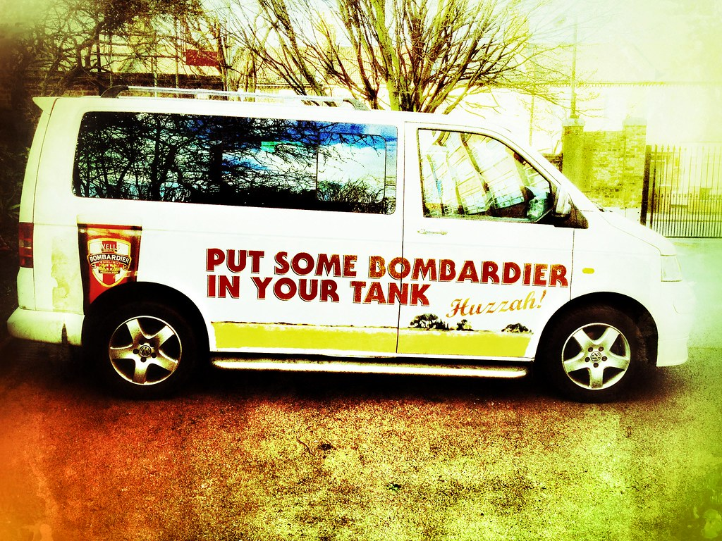 Our sponsored van!