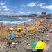 La Playa de Las Canteras en Las Palmas de Gran Canaria