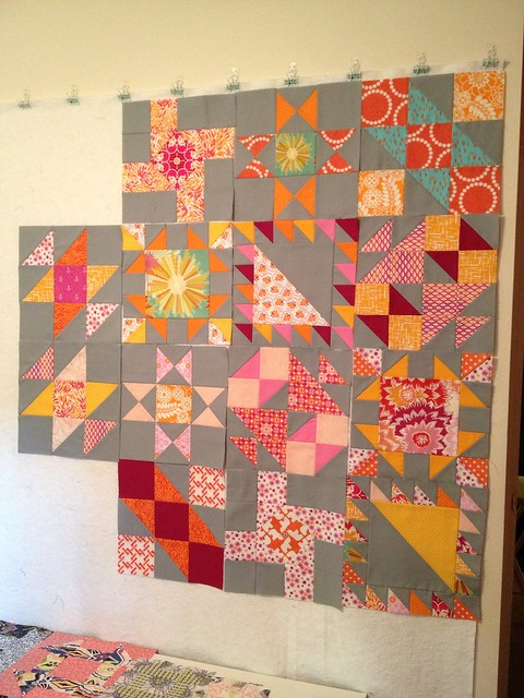 Sisters Ten BOM - July Blocks