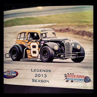 Great shot from Thursday Thunder! Thanks Jamie! #8 #uslegends #racecar #racing