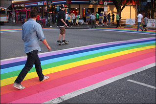 new pride crosswalk