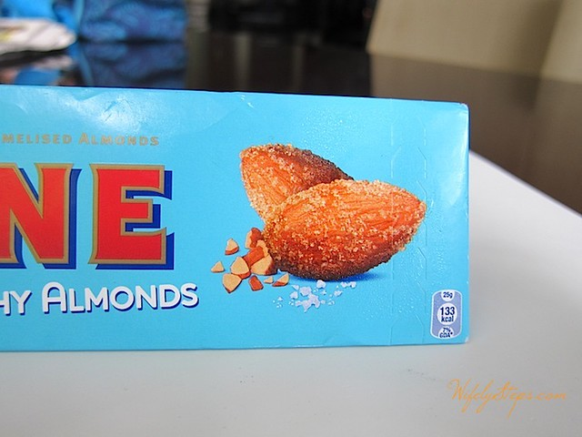 Crunchy Almonds in Toblerone