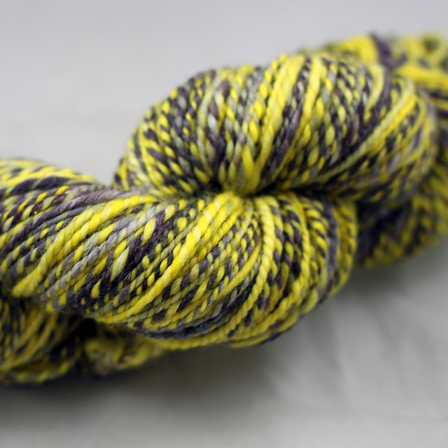 Canary in a Coal Mine Handspun