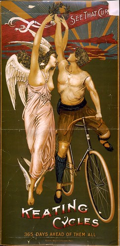 Keating Cycles poster, 1890s